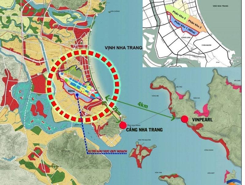 Dự án Sân Bay Nha Trang cũ kết nối thuận tiện tói thành phố Nha Trang